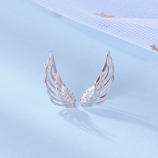 Angel wing Earrings - Direct Dropship