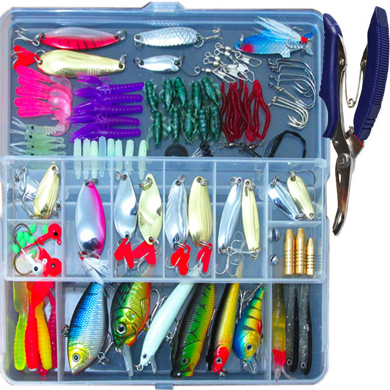 132 Pcs Fishing Lures Set Mixed Minnow Hooks Fish Lure Kit In Box Artificial Bait Fishing - Direct Dropship