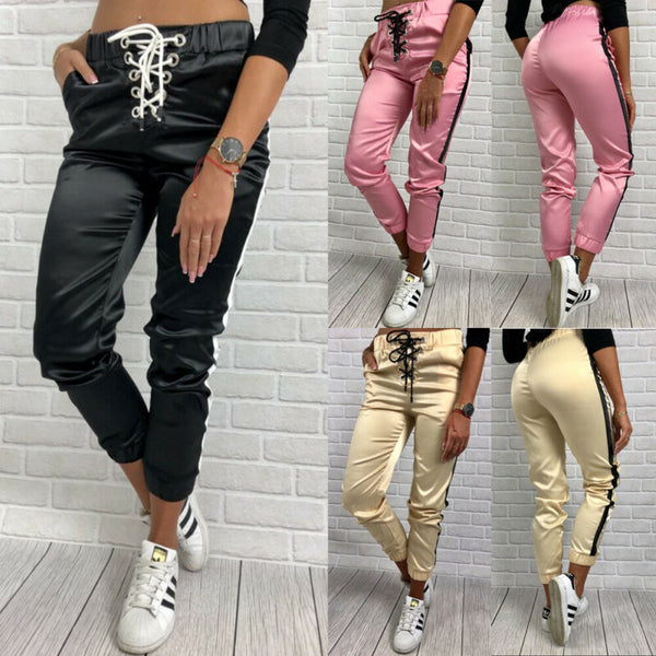 Contrast stitching trendy pants - Direct Dropship