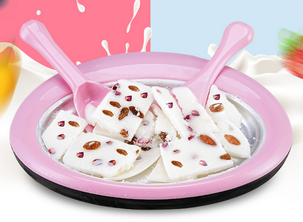 Hot home fried yogurt machine small mini children to do super ice cream frozen plate copy iron plate ice cream fried ice machine - Direct Dropship