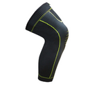 Sports leg protectors knit pressure knee pads (Black One size) - Direct Dropship
