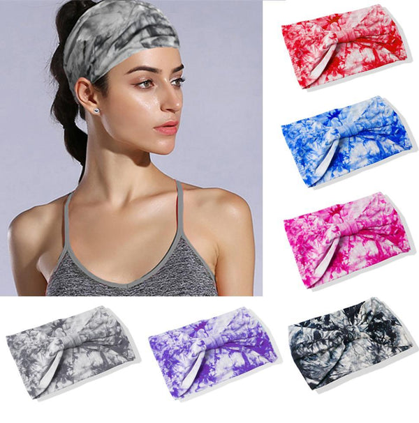 Retro Tie Dye Headbands - Direct Dropship