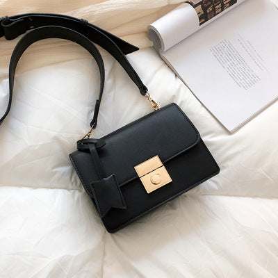 Women's lock shoulder bag - Direct Dropship