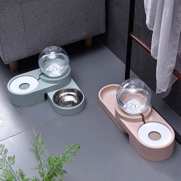 Cat Dog Feeder Fountain Bubble Large Drinking Bowl Pet Automatic Cats Water Fountain For Cat Pets Water Dispenser No Electricity - Direct Dropship