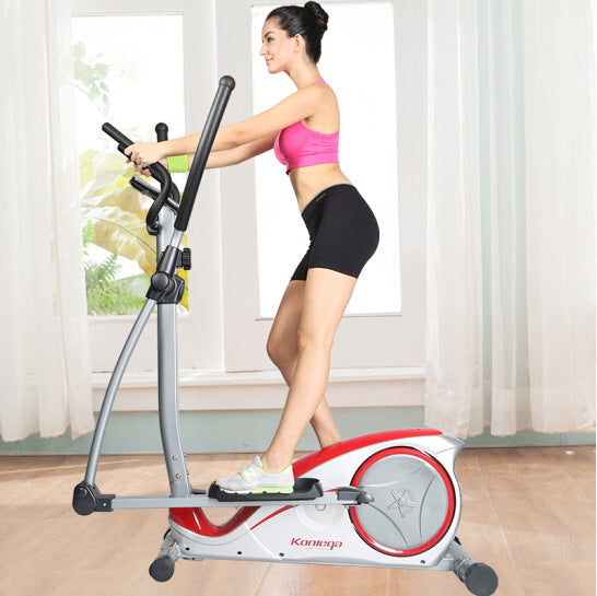 Translated Description: 8601H magnetron mute elliptical machine indoor walking exercise fitness equipment (A) - Direct Dropship