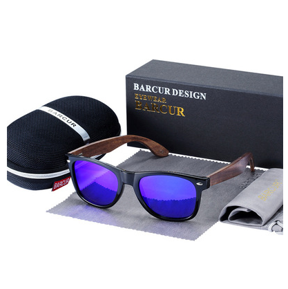 Wooden sunglasses polarized sunglasses men's glasses - Direct Dropship