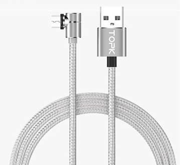 Magnetic Cable Micro Usb Cable 360 Degree Rotate Magnetic Charge Phone Charging Cord Wire - Direct Dropship