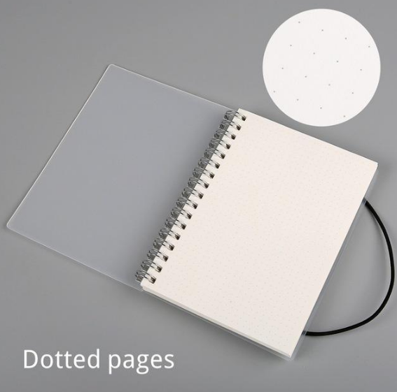 Plastic Cover Bound Spiral Coil Notebook - Direct Dropship