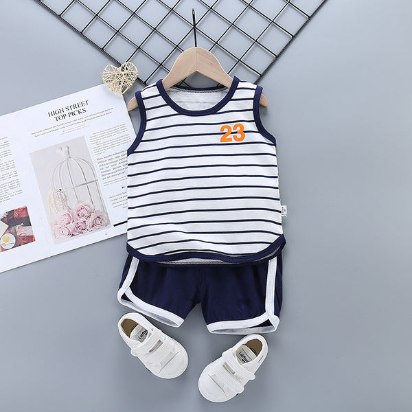 Pure cotton boys and girls suit - Direct Dropship