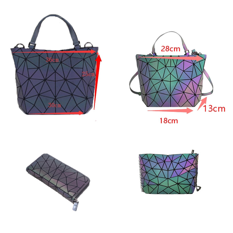 Luminous Lingge handbag - Direct Dropship