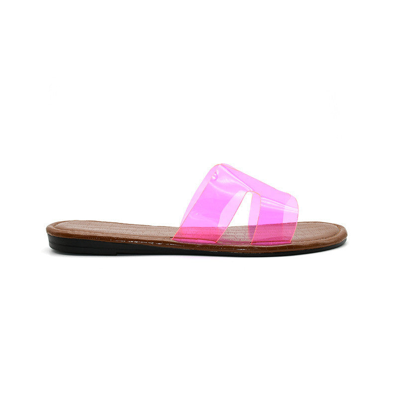 Ladies' casual flat slippers - Direct Dropship
