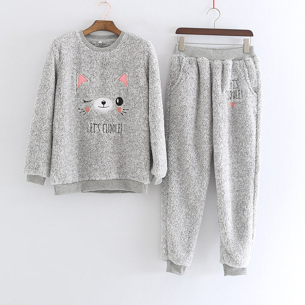 Womens Dreaming Cat Pyjamas - Direct Dropship