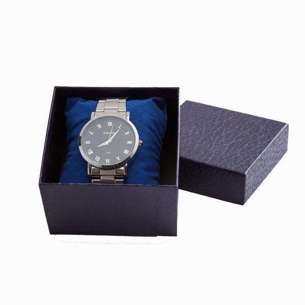 Watch box bracelet jewelry gift packaging box bronzing - Direct Dropship