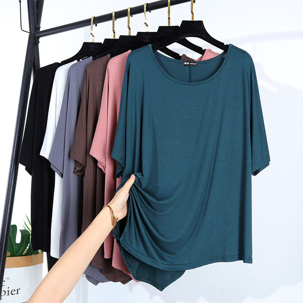 Wild T-shirt in irregular top - Direct Dropship