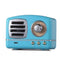 Retro knob wireless bluetooth speaker U disk card radio portable multi-color Bluetooth audio - Direct Dropship
