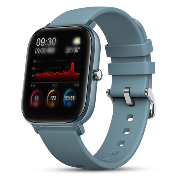 Full-touch Smart Bracelet Monitors Heart Rate Blood Pressure Multi-sport Watch - Direct Dropship
