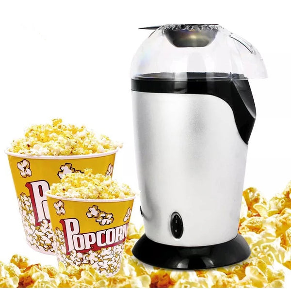 Automatic Popcorn Machine (White EU) - Direct Dropship