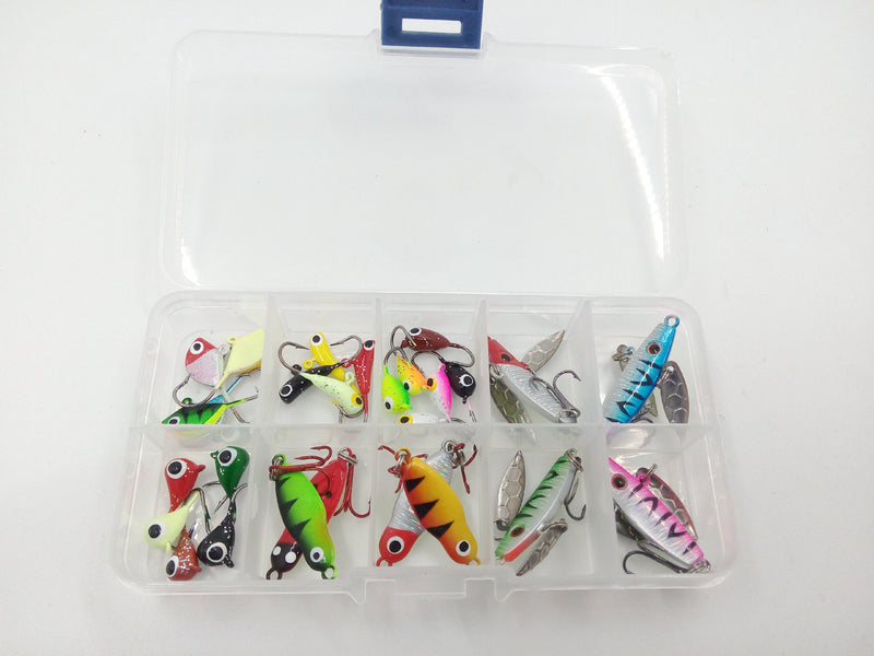 27 / set of ice road sub suit mini metal lead fish bait - Direct Dropship