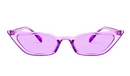 Narrow Cat Eye Sunglasses Women Candy Colours - Direct Dropship