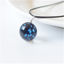Luminous 12 constellation necklace female - Direct Dropship
