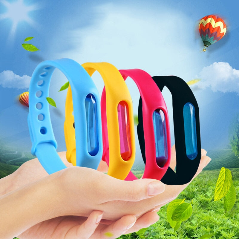 Natural Extract Summer Silicone Anti-Mosquito Hand Strap