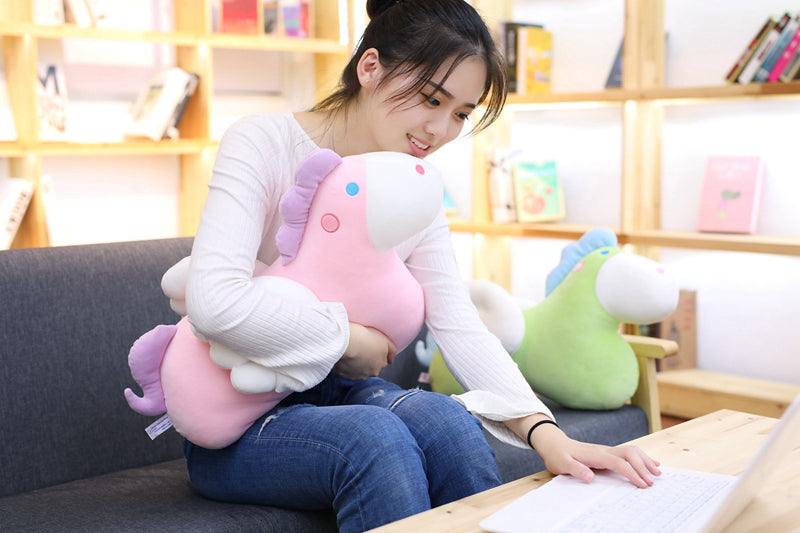 Down cotton unicorn pillow - Direct Dropship