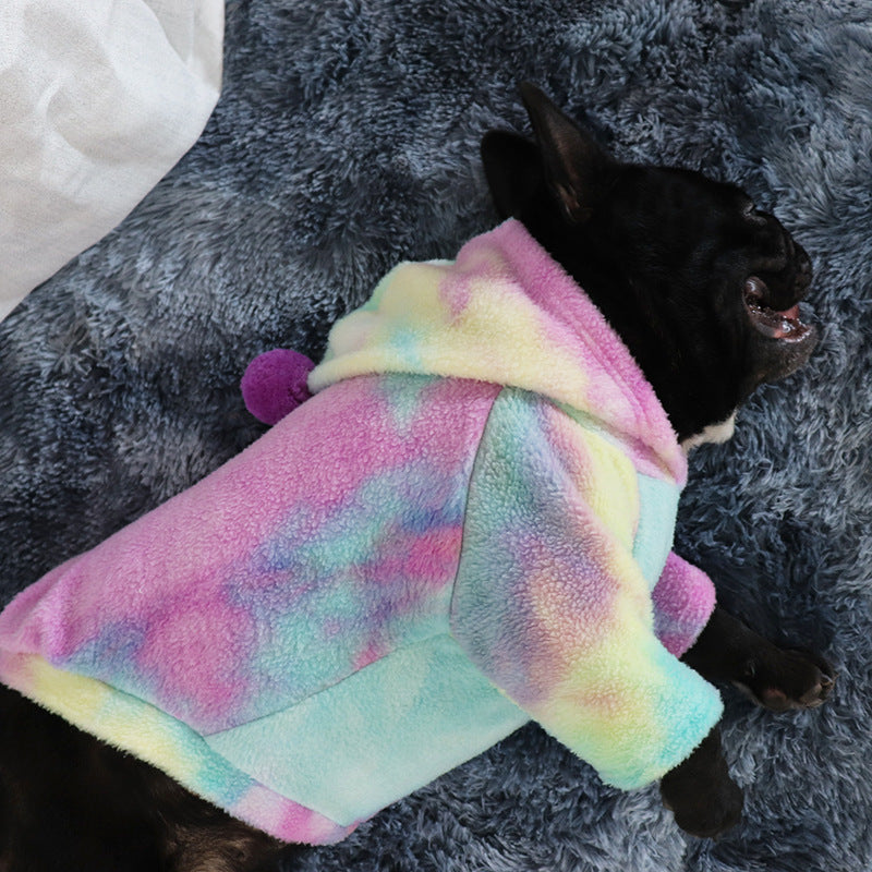 Pet Tide brand new tie-dye cashmere sweater - Direct Dropship