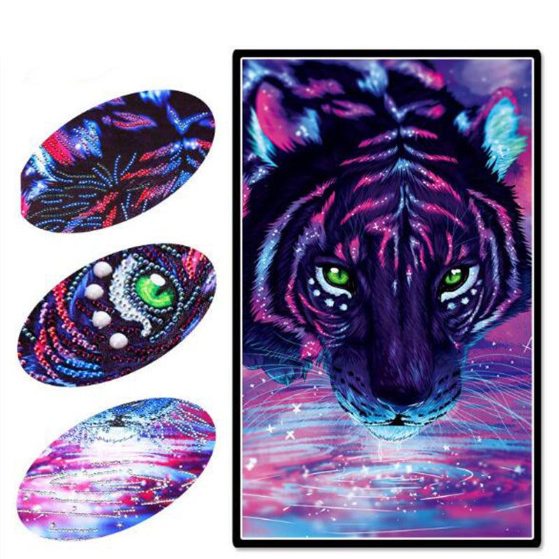 Diamond Painting DIY (Tiger 30X50CM) - Direct Dropship