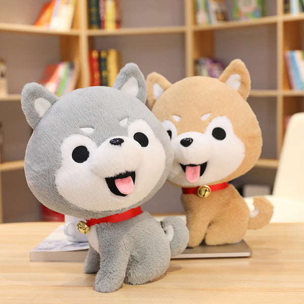 Cartoon bell husky doll - Direct Dropship