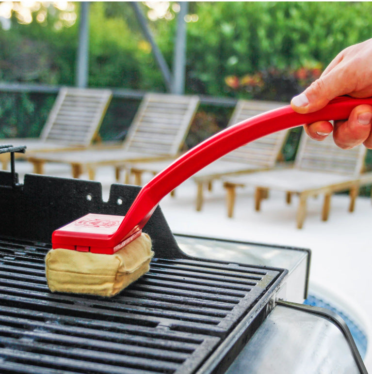 Barbecue cleaning brush (Yellow) - Direct Dropship