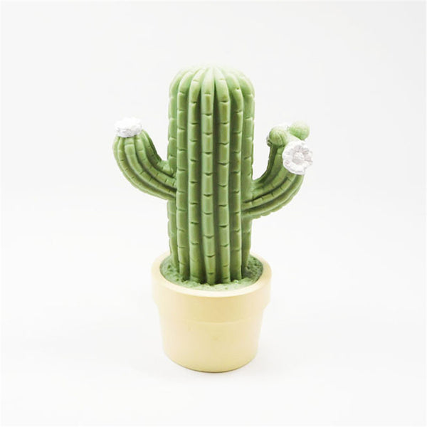 Cactus potted night light (Green) - Direct Dropship