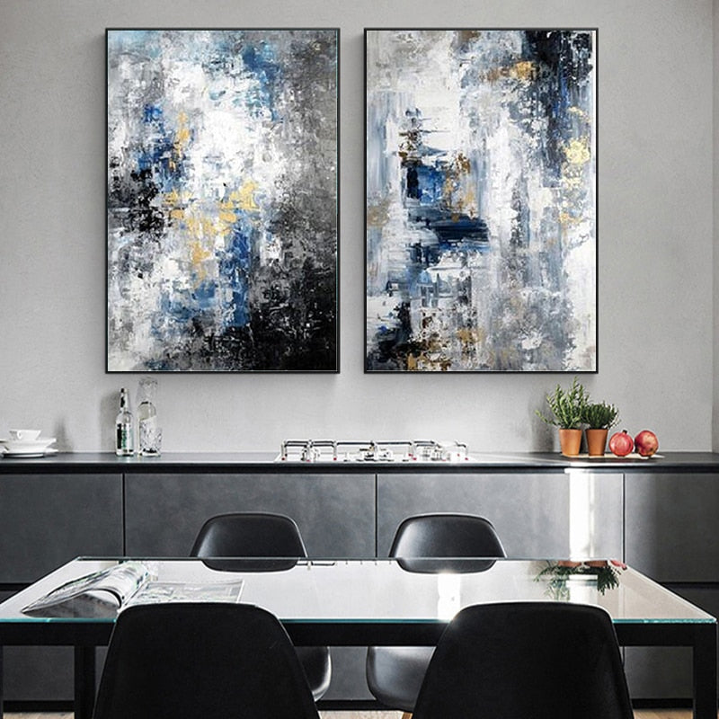 Modern Abstract Canvas Painting Nordic Style Posters and Print Cuadros Wall Art Picture for Living Room home Decoration unframed