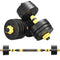 Adjustable Weights Dumbbells Set, Free Weights Set With Connecting Rod 40KG