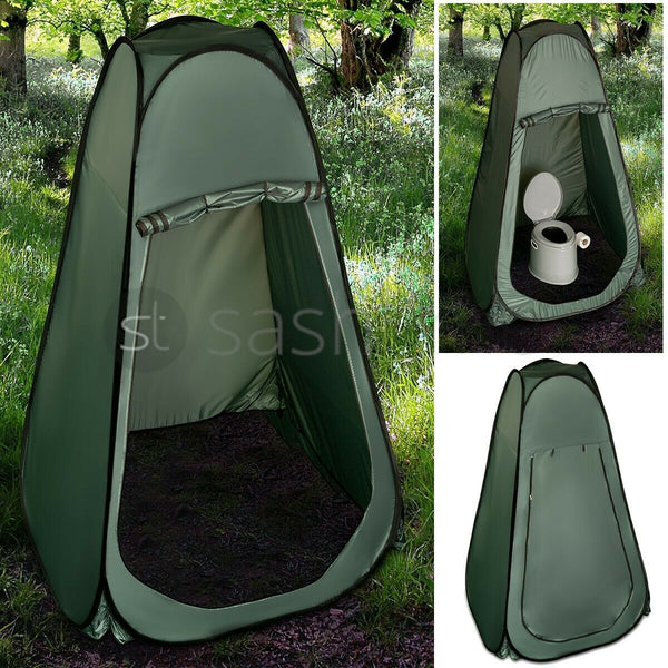 PORTABLE POP UP TENT OUTDOOR CAMPING TOILET SHOWER INSTANT CHANGING PRIVACY ROOM - Direct Dropship