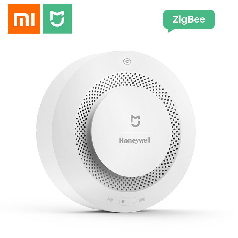 Xiaomi Smoke Detector Sensor Gas Alarm Detector Mijia Fire Alarm Work With Gateway Smart Home Remote APP Control for Honeywell