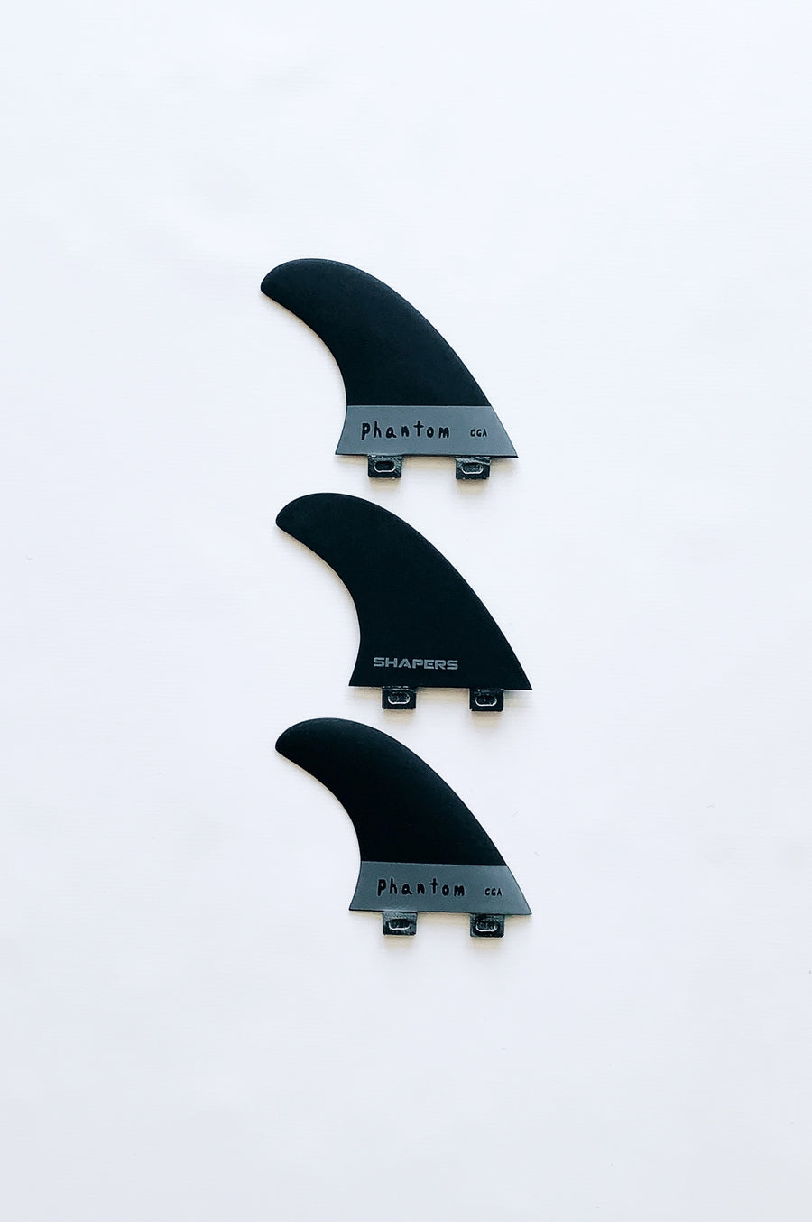 New Fibreglass thruster fin set CGA
