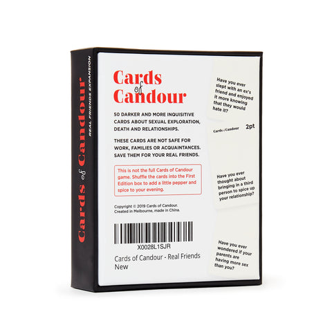 CARDS OF CANDOUR - REAL FRIENDS EXPANSION