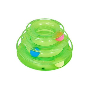 INTERACTIVE CAT TOY SPIRAL