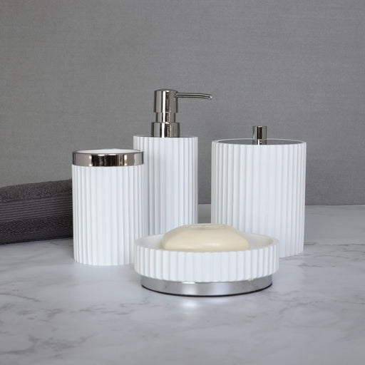 Dispensador para Jabon Elle Silver Moda at Home 105596 814334070659