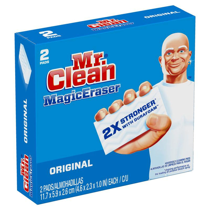 Esponja Borradora Mr. Clean 2 Piezas Mr. Clean 1224286 037000435150