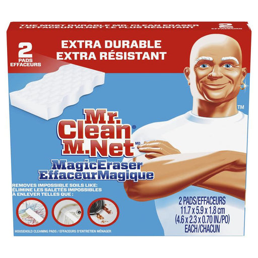 Esponja Borradora Extra Power Mr. Clean 2 Piezas Mr. Clean 1330133 037000042495