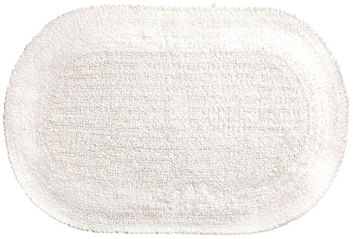 Tapete para Baño Serene Oval Blanco Moda at Home 454544 814334060575