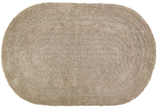 Tapete para Baño Serene Oval Taupe Moda at Home 454545 814334060582