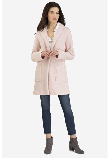 Women's Notch Collar Duster