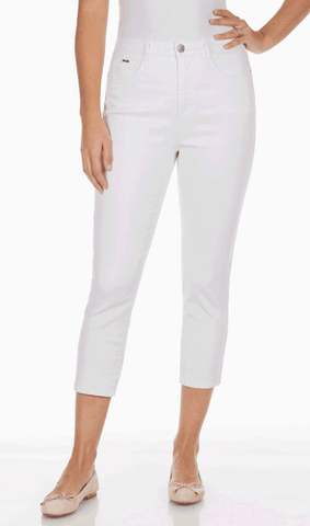 Women's Suzanne Crop Pant w/Bow & Zip