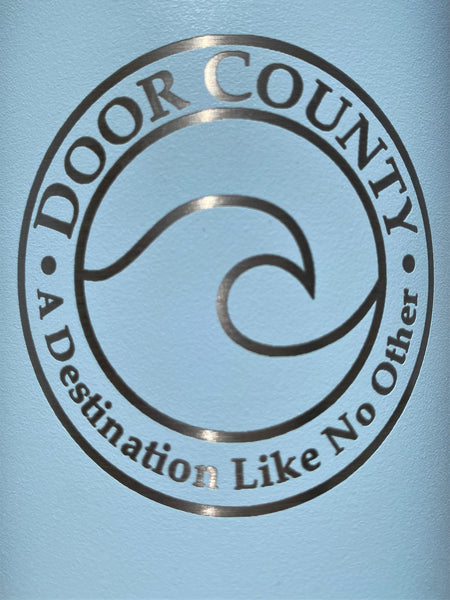 Customized DOOR COUNTY Edition 32 oz Wide Mouth Bottle