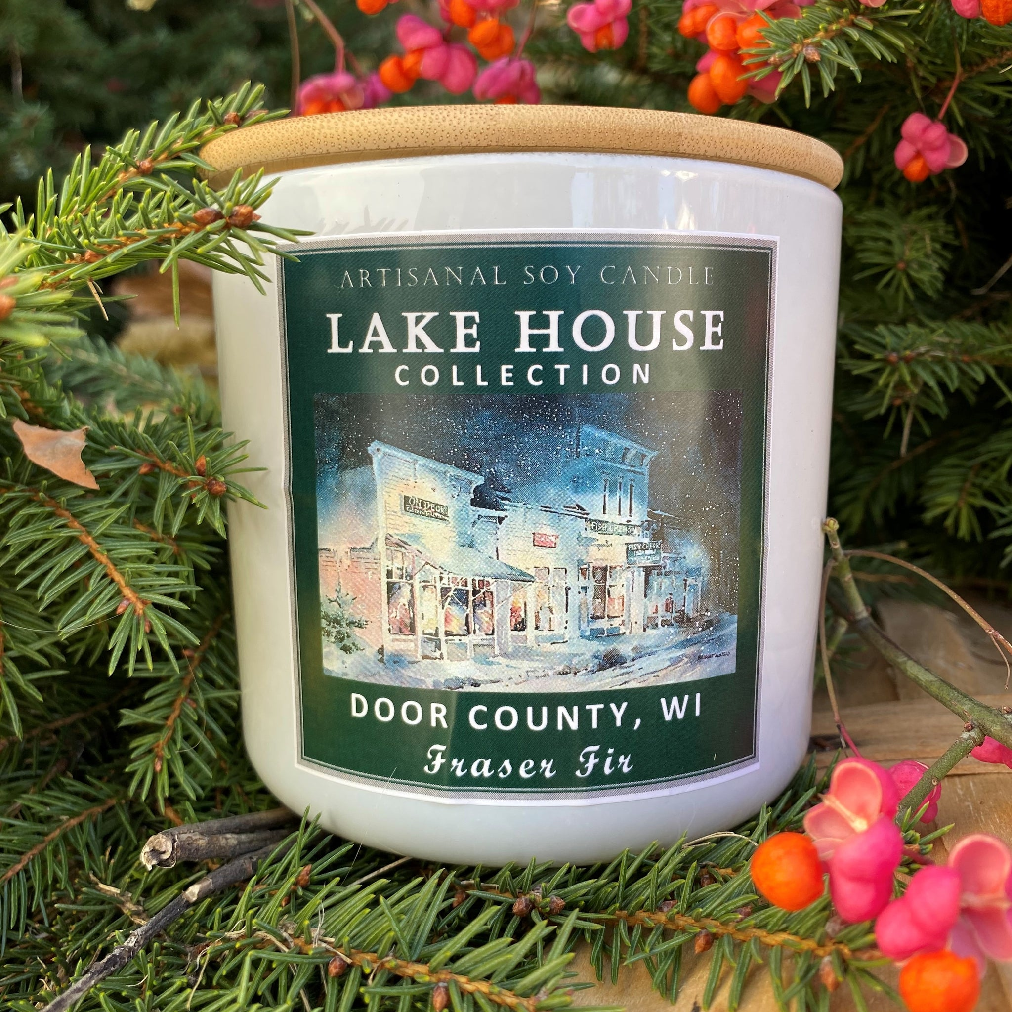 Door County Holiday Candles