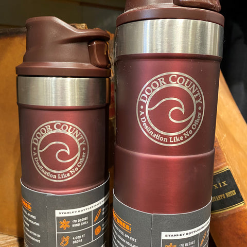 Custom Engraved Classic Trigger Action Travel Mug - 20 oz