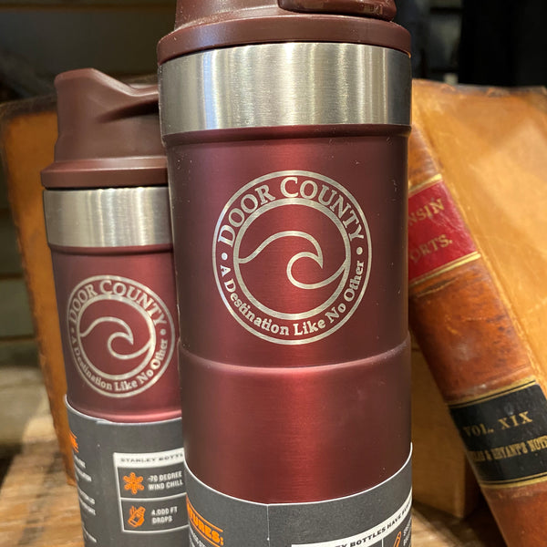 Custom Engraved Classic Trigger Action Travel Mug - 16 oz