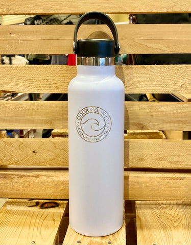 Custom Engraved DOOR COUNTY 21 oz Standard Mouth Bottle